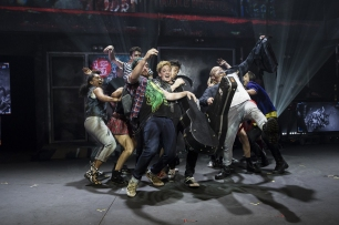 American Idiot cast, photo by Ken Leanfore